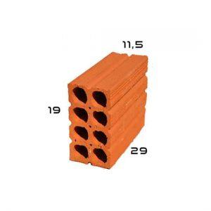 tijolo 8 furos 115x19x29
