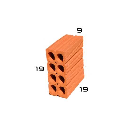 tijolo 8 furos 9x19x19