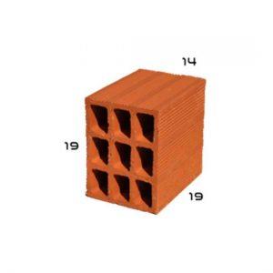 tijolo 9 furos 14x19x19